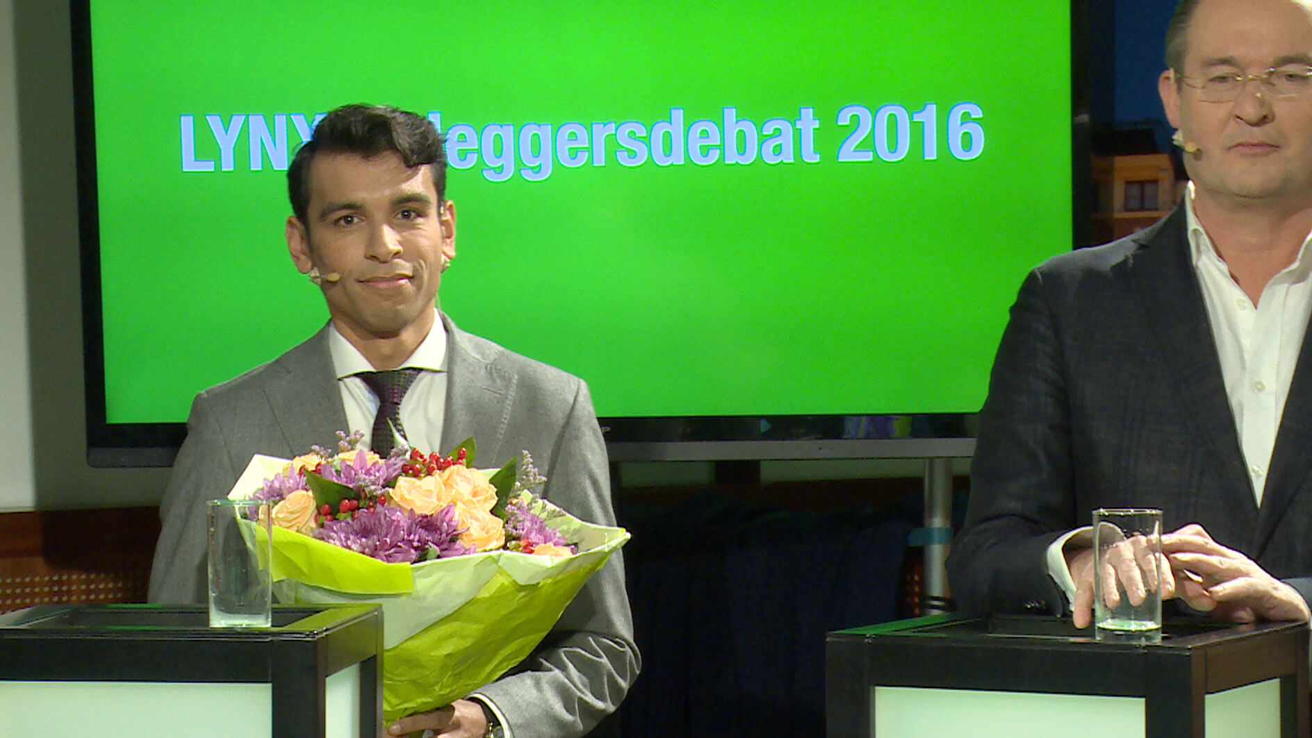 Jim winnaar LYNX Beleggersdebat 2016
