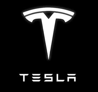 Logo van Tesla - Aandeel Tesla koerst flink hoger na bekendmaking nieuw model