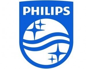 Logo Philips - Beursgang Philips Lighting