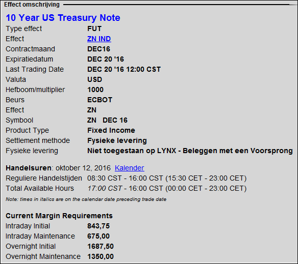 amerikaanse-futures-us-treasury-note-future-5-USA