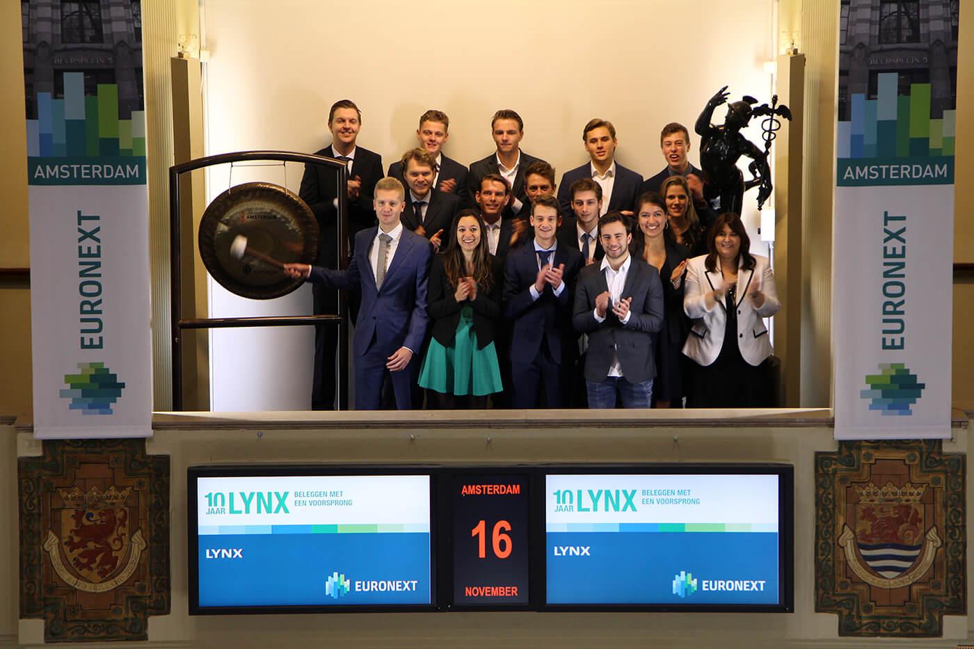 LYNX opent de beurs
