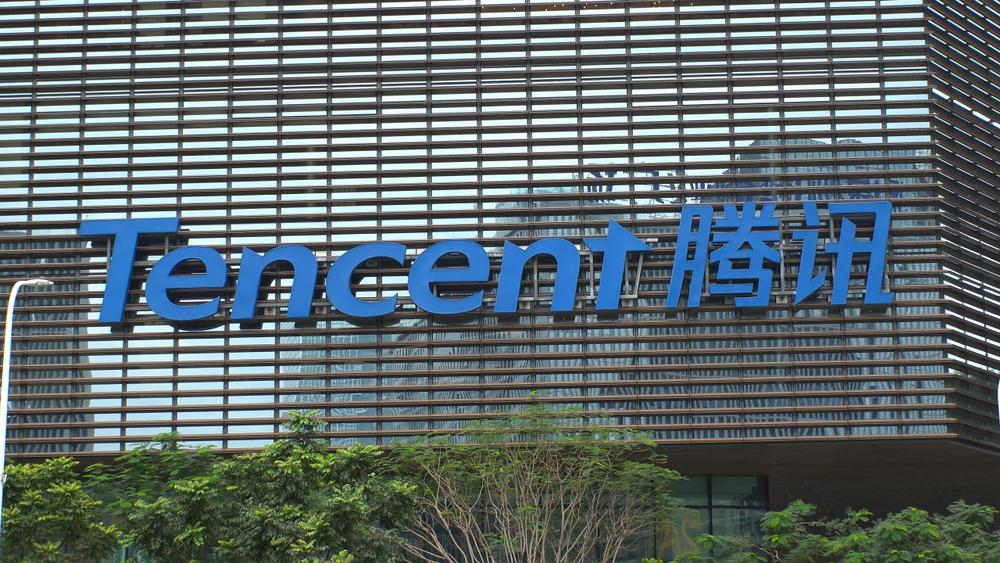 Aandeel Tencent