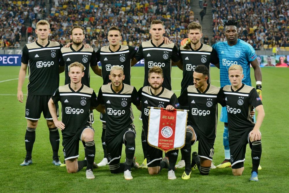 Waarde staat op het veld - Aandeel Ajax