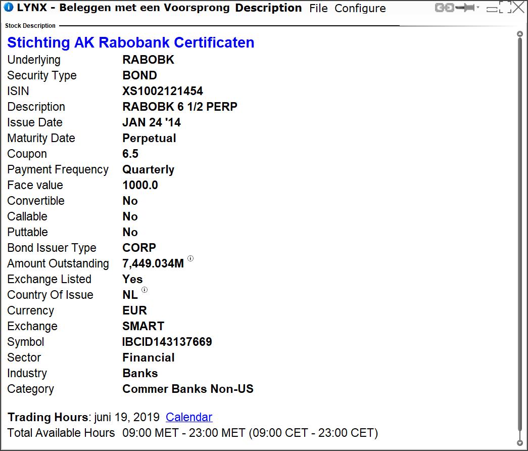 Rabobank Certificaten