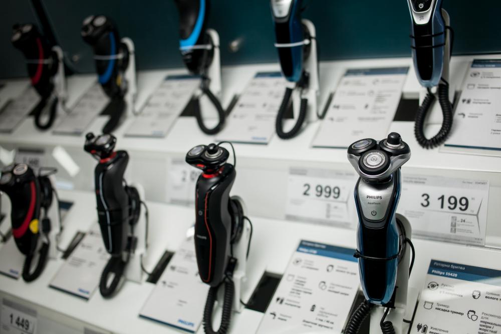 Scheerapparaten passen bij de nieuwe focus van het aandeel Philips