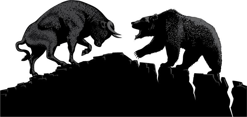 Signalen van de bull en bear markt