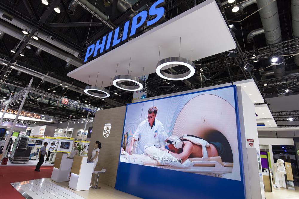 Aandeel Philips richt zich op gezondheidszorg