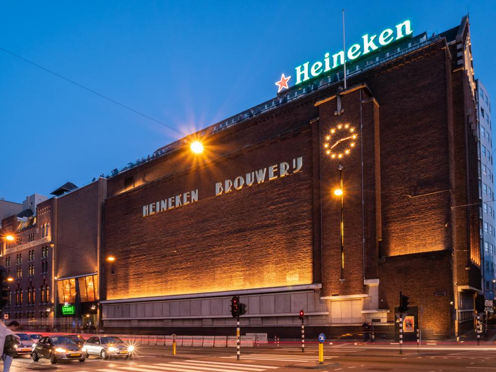 Aandeel Heineken - brouwerij