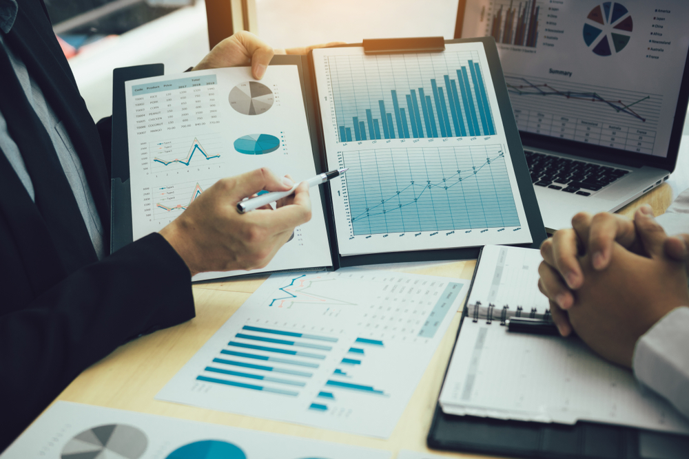 Groei en waardering in een analyse