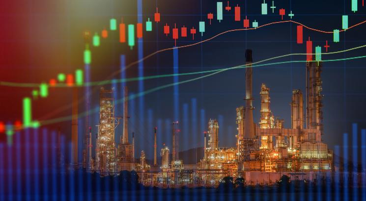 Olie aandelen koers