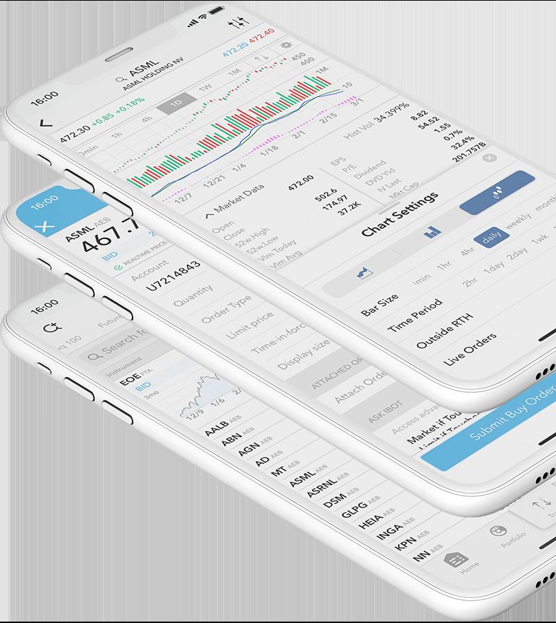 Mobiel aandelen handelen met de LYNX Trading App