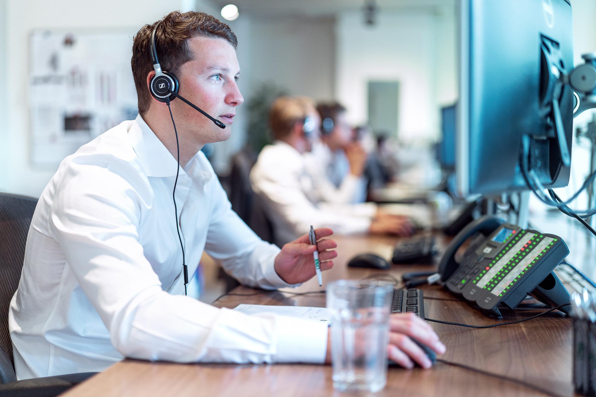 Gratis telefonische ondersteuning bij orders