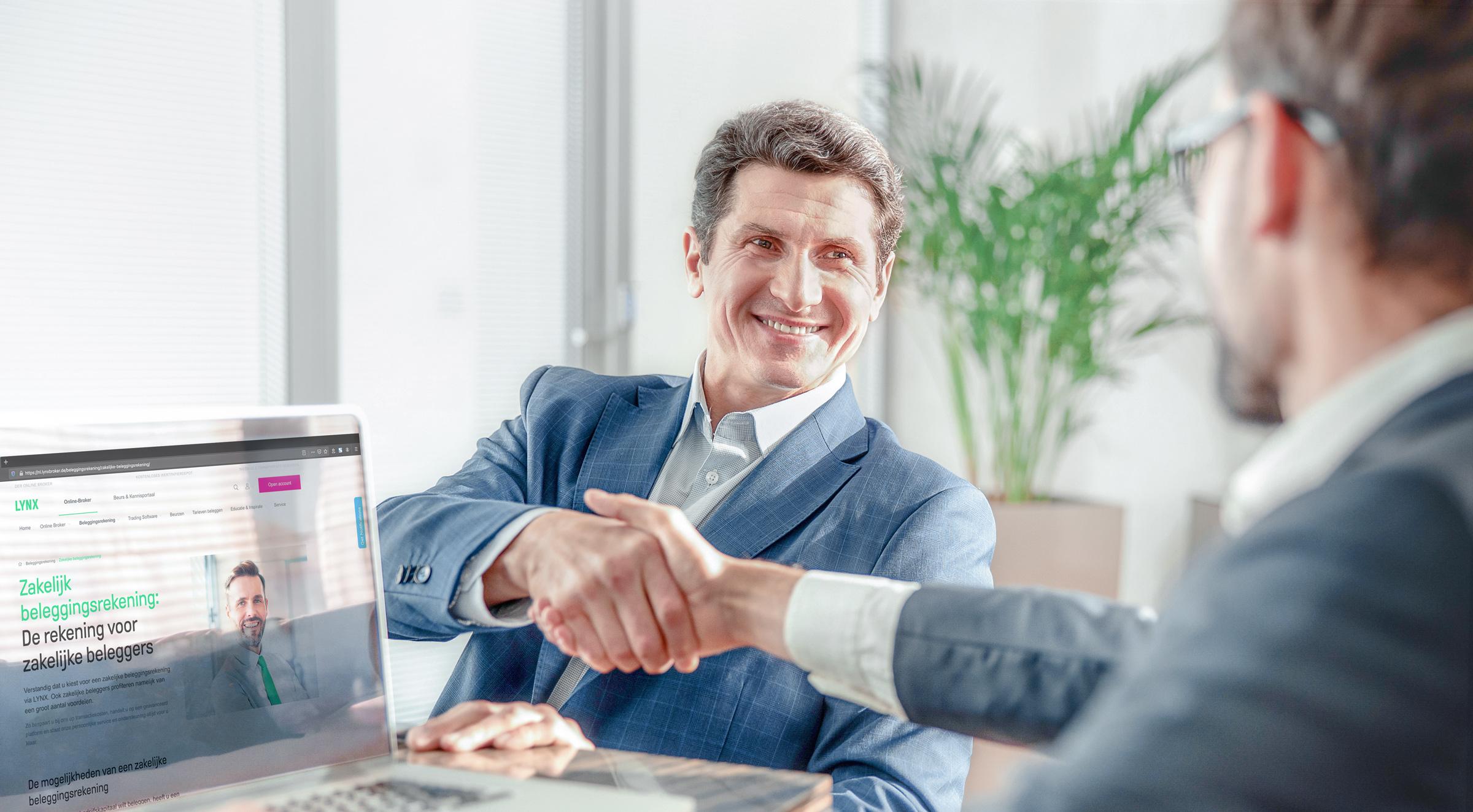 Zakelijke beleggingsrekening openen