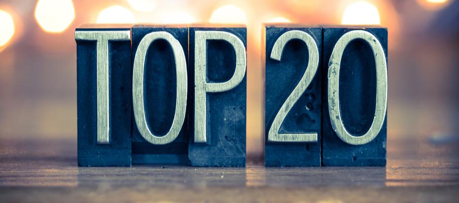 Top 20 beste aandelen 2020
