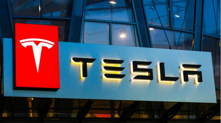 Tesla aandeel