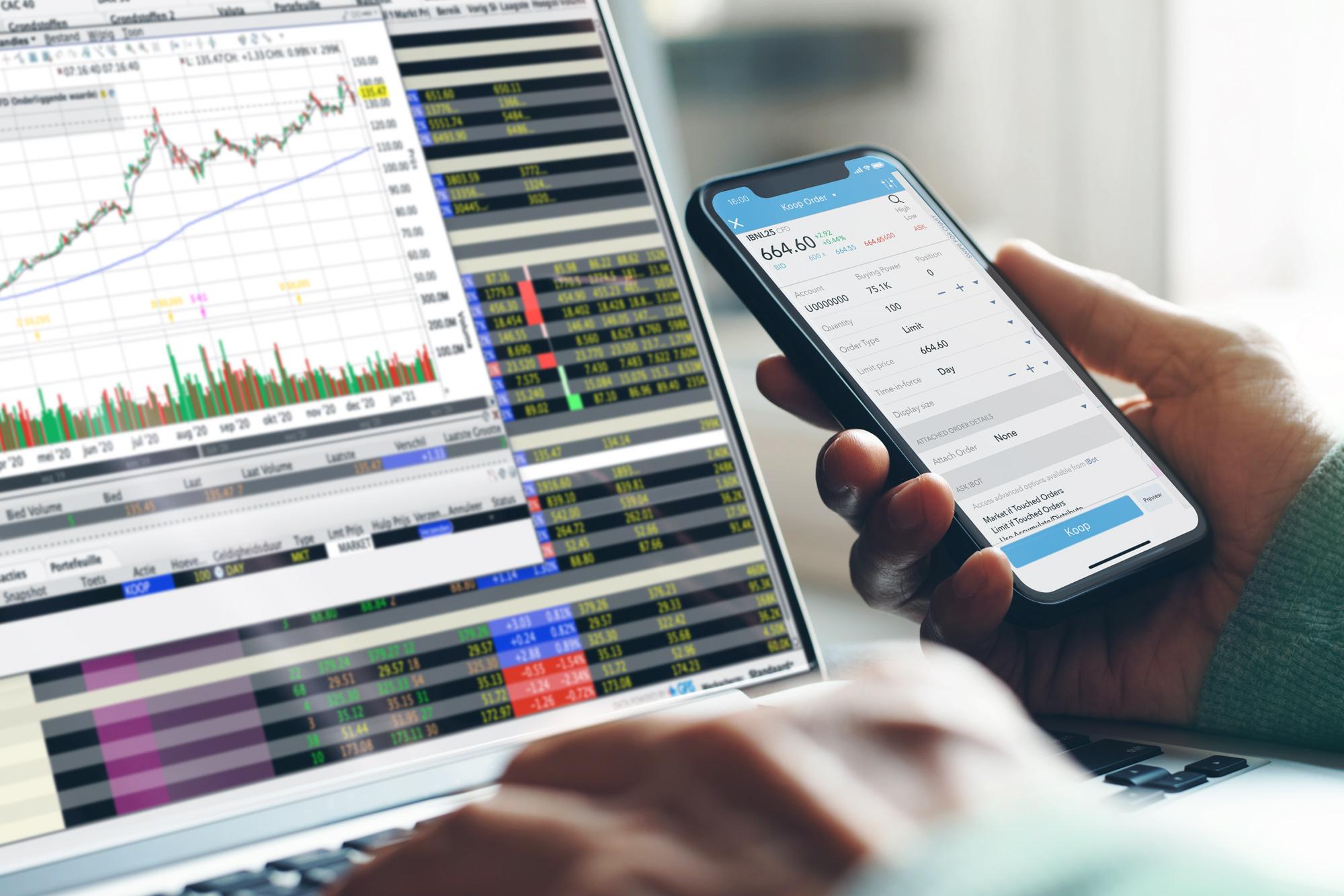 CFD broker voor CFD trading