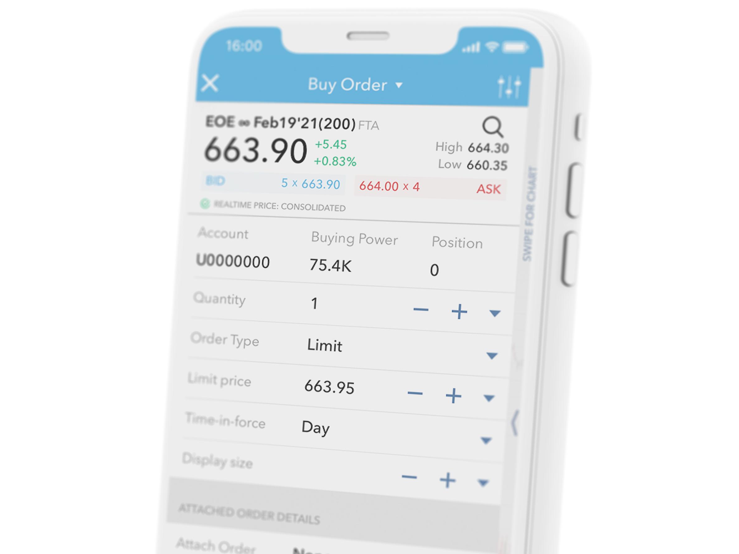 Online beleggen in futures via de LYNX Beleggingsapps