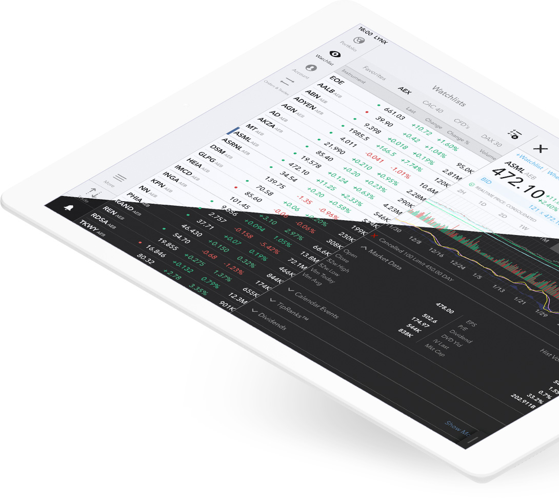 iPad Trading App: Download in App Store