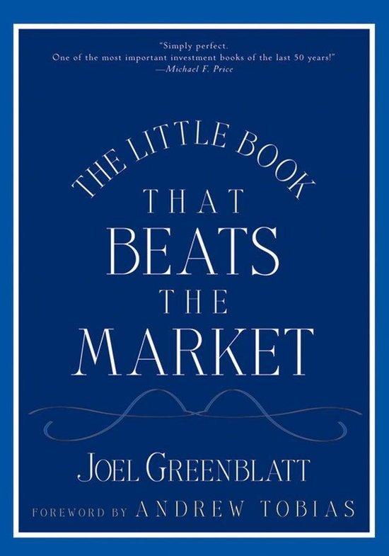Beursgoeroe Joel Greenblatt - boek The Little Book That Beats The Market.