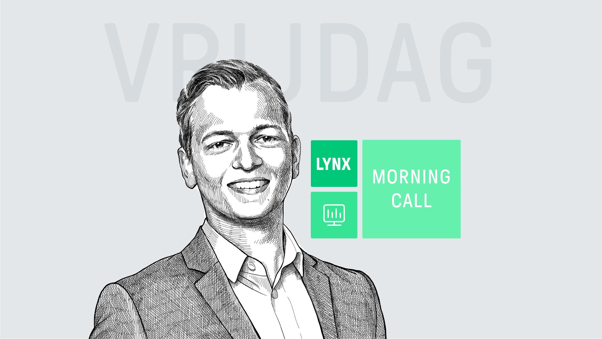 Lees dagelijks het laatse beursnieuws in de LYNX Morning Call van belegggingsexpert Justin Blekemolen